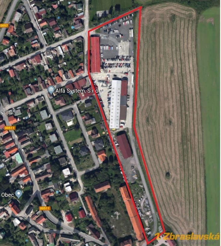 Dobříč, Prodej Provozního areálu, na pozemku o 22.394 m2, Praha - Západ