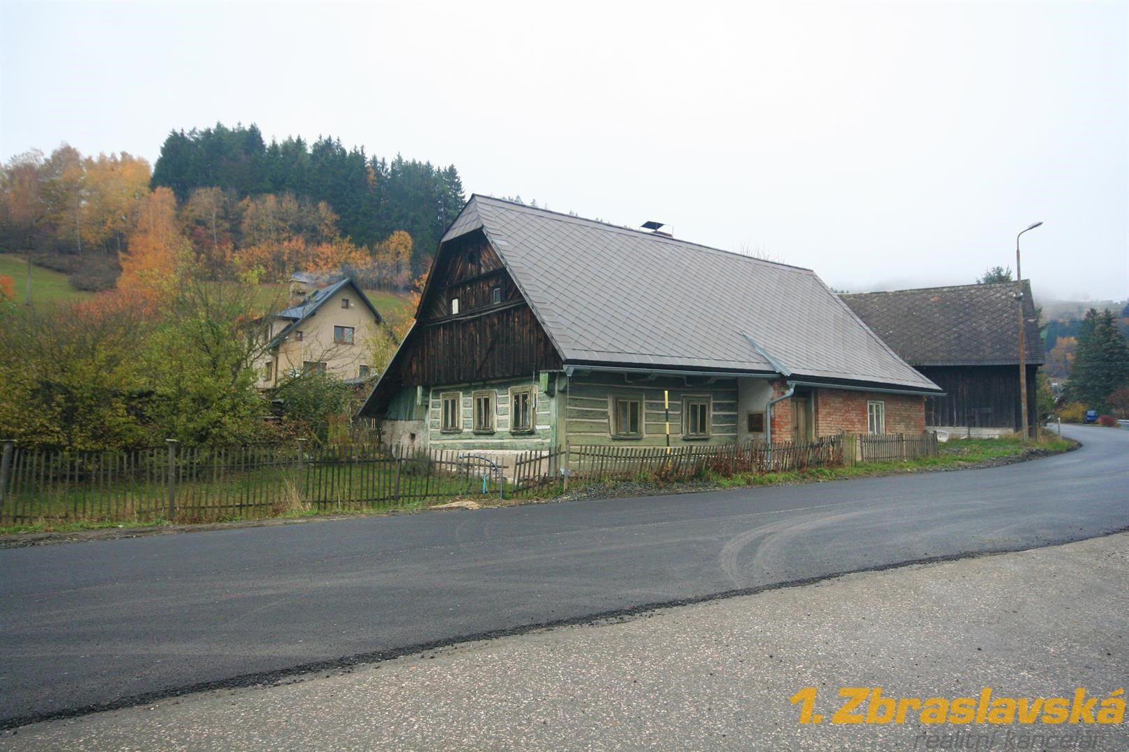Dolní Štěpanice, Benecko, prodej roubené chalupy na pozemku 762 m2