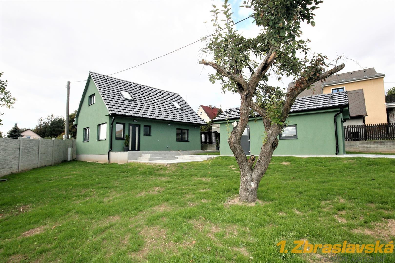 RD na prodej, pozemek 832 m 2, Libeř, Praha - západ