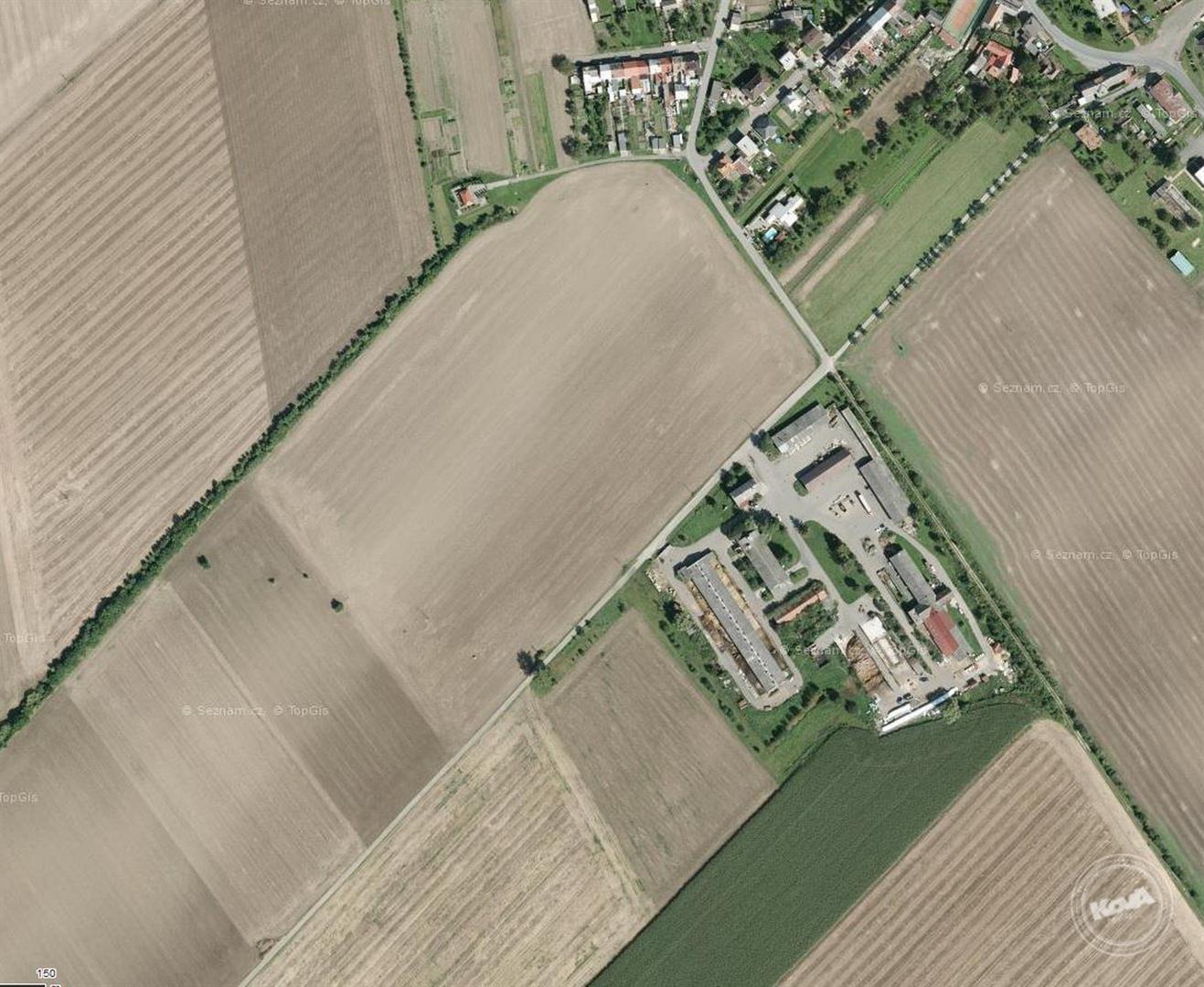 Dražba stavebních pozemků o výměře 6 025 m2 v zemědělském areálu, kú. Stará Ves u Přerova