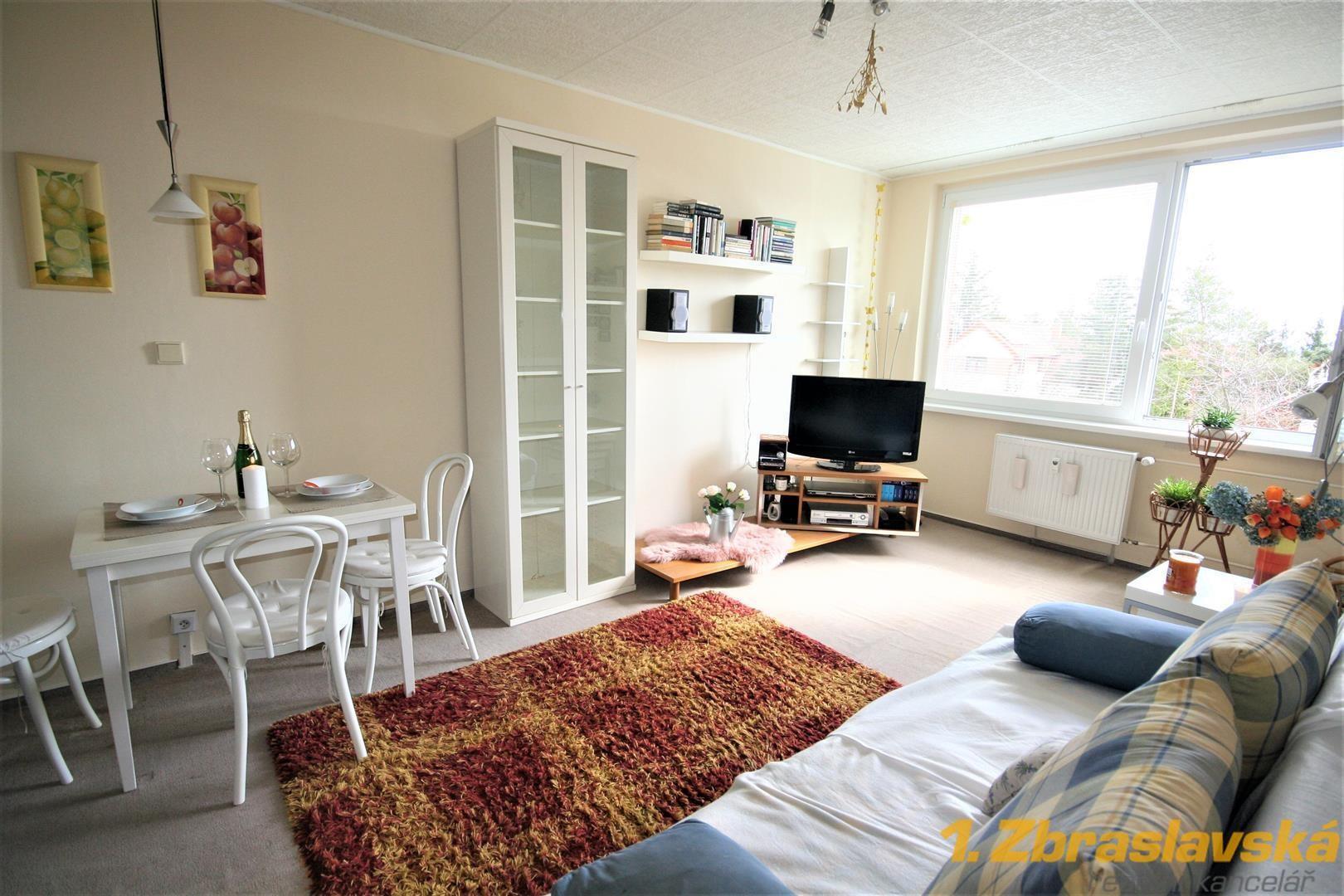 Řitka, Praha - západ, byt 2+kk, 42,5 m2, DV