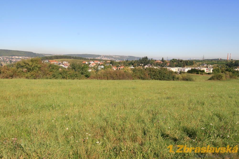 Praha 5 - Lipence, jižní okrajová část Prahy