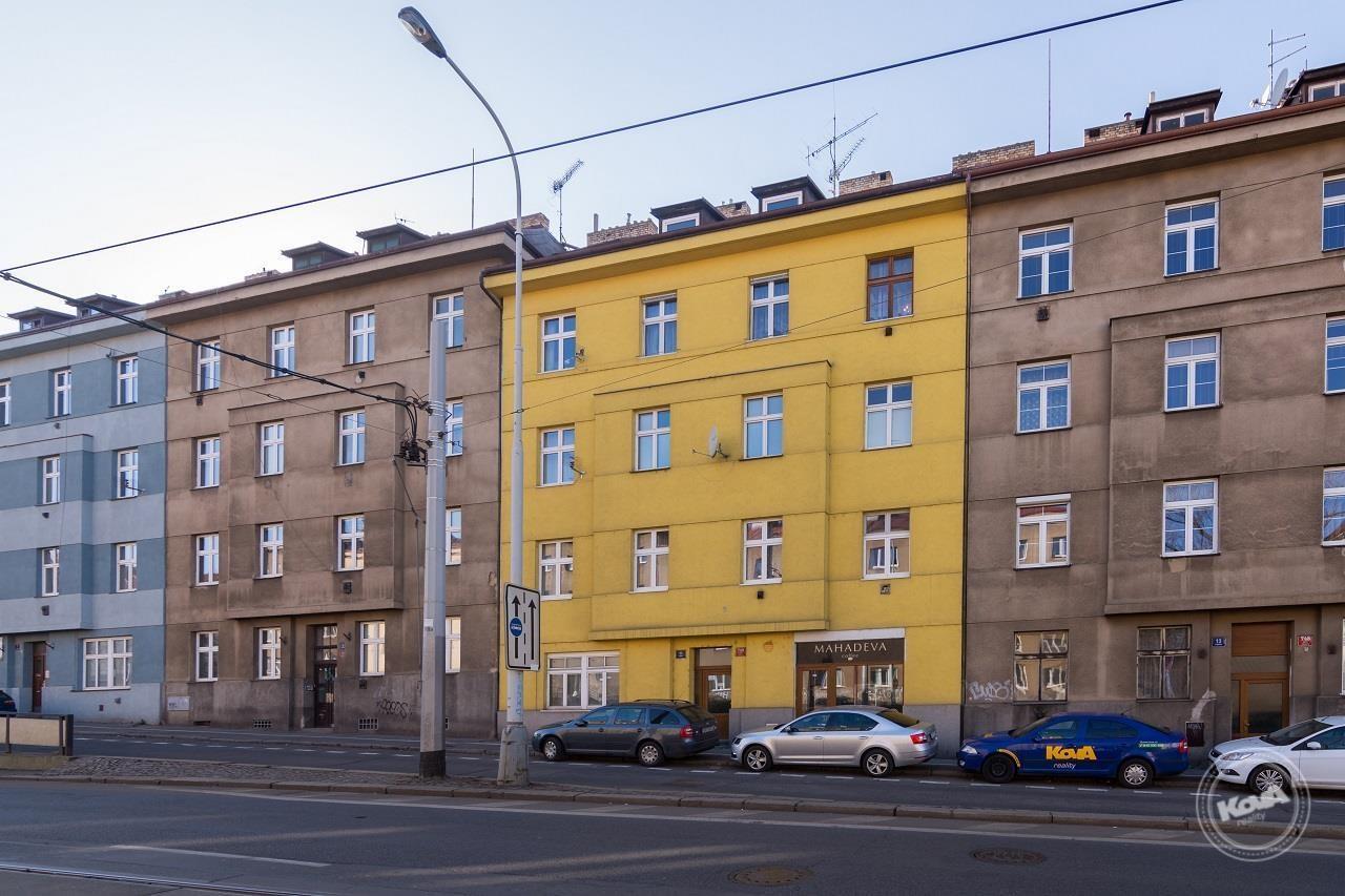 Činžovní dům na adrese Táborská, Praha 4, Nus