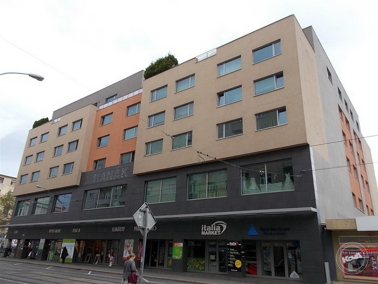 Dražba 13 nebytových prostorů, Brno-město
