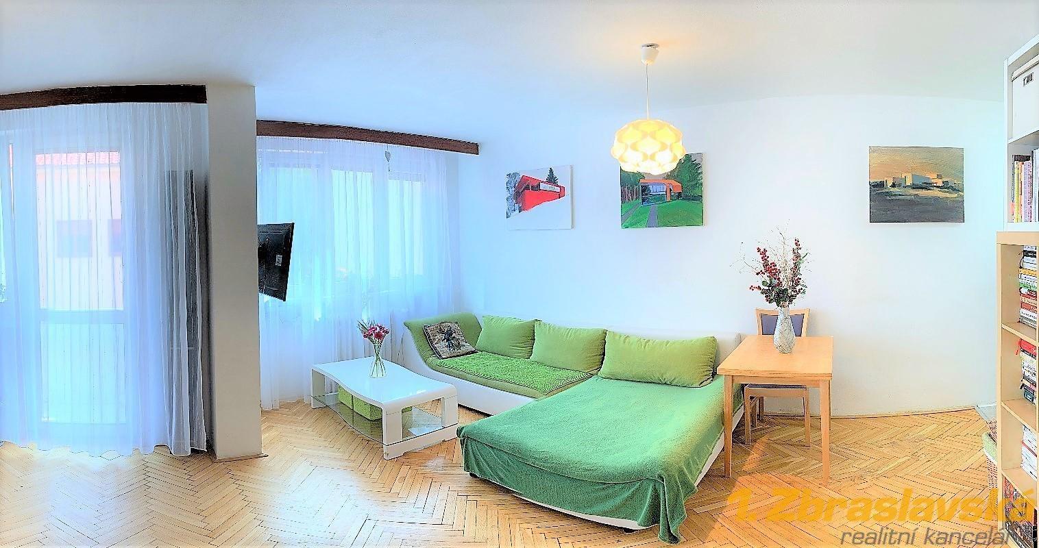Košíře, Prodej bytu 2+KK/L o 61,2 m2, Praha 5