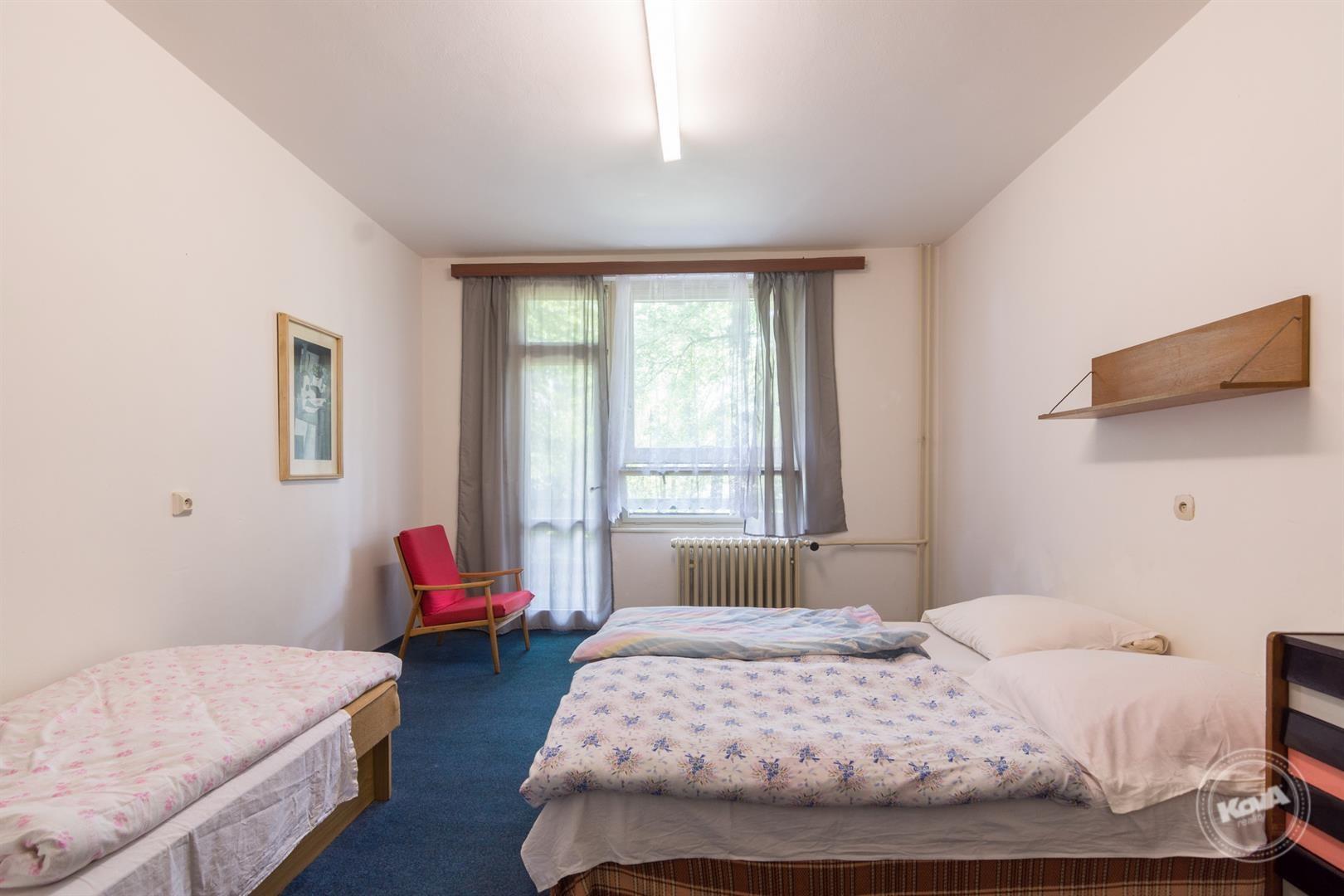 Pokoje pro hosty s balkony
