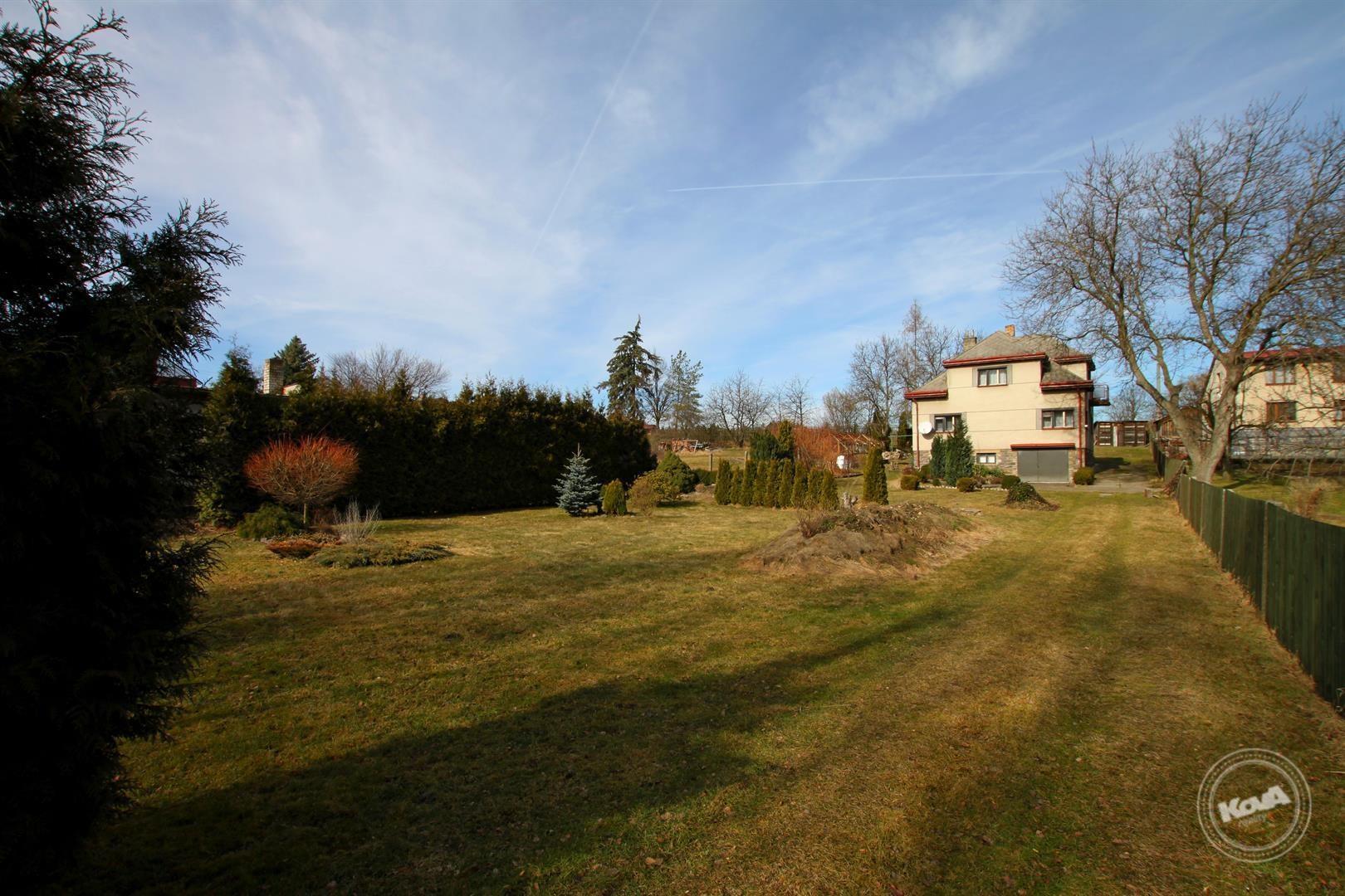 Příbram - Lhota u Příbramě, prodej rodinného domu 250 m2, zahrada 1529 m2