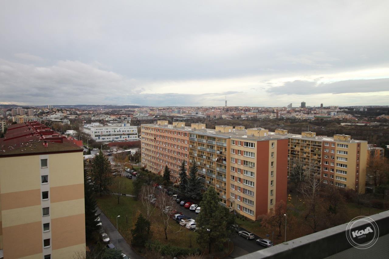 Výhled z balkonu na Pra